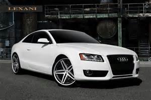 Audi A5 Coupe Rims Lexani R05 Black Machined Wheels On Audi A5 Wheels