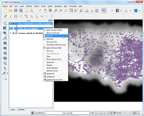 qgis dem tutorial sling raster data using points or polygons qgis
