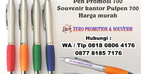 Harga Pulpen Kantor by Pen Promosi 700 Souvenir Kantor Pulpen 700 Harga Murah