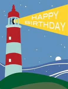 the found lighthouse happy birthday