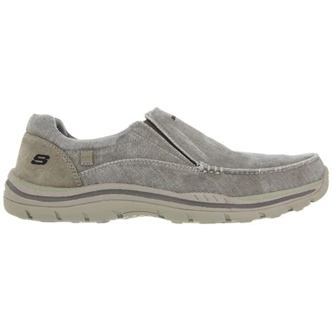 skechers shoe store skechers men s avillo slip on shoes bob s stores