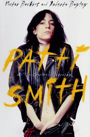 goodreads biography list patti smith an unauthorized biography by victor bockris