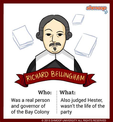 Scarlet Letter Character Quotes governor richard bellingham in the scarlet letter
