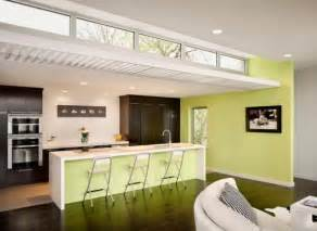 Clearstory Windows Decor Decorating With Green 52 Modern Interiors To Accentuate Freshness