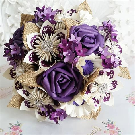 How To Make A Paper Bouquet Of Flowers - how to make a paper flower bouquet for wedding the 25 best