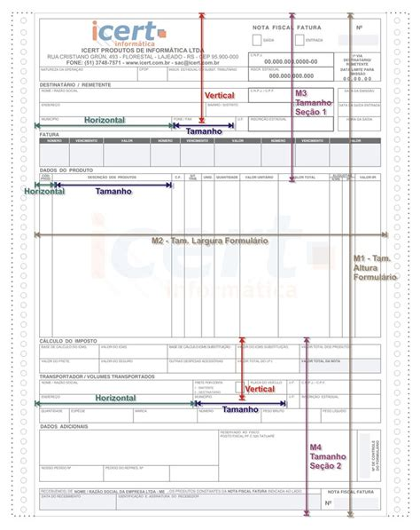 layout de nf e nota fiscal como configurar o layout emissor nf e 187 vendas