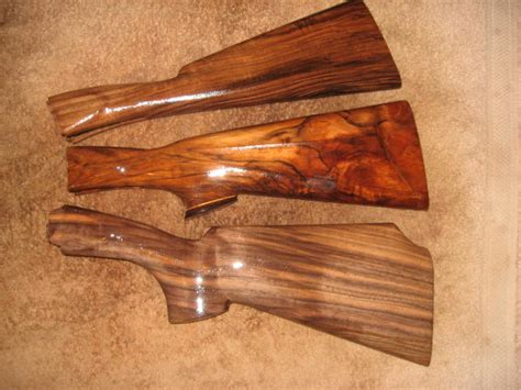 Handmade Rifle Stock - custom gun stocks