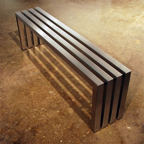 linear bench linear bench stainless steel 58 sarabi studio
