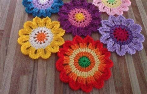 pattern flower free crochet flowers free patterns the best collection