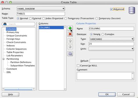 Delete From Table Oracle by Operate Oracle Sql Developer Adding Table On Shadow