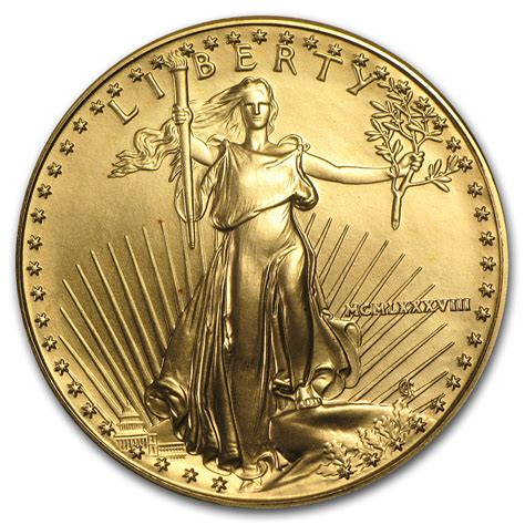 Does Walmart Sell American Eagle Gift Cards - 1988 mcmlxxxviii 1 oz gold american eagle coin brilliant uncirculated ebay