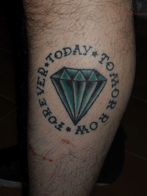 diamond tattoo leg 44 diamond tattoos designs and pictures collection