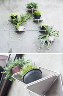 planters that hang on the wall 10 modern wall mounted plant holders to decorate bare