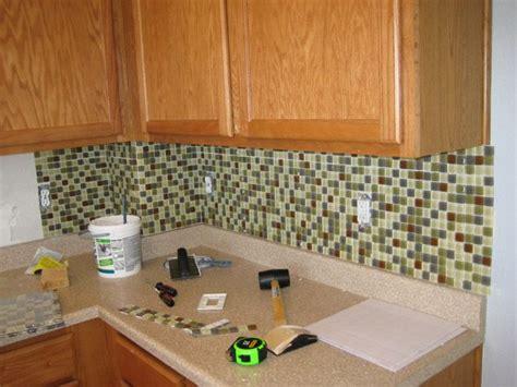 Easy Tile Backsplash Ideas - 5 easy and inexpensive ways to upgrade your kitchen hang a backsplash stick on tile