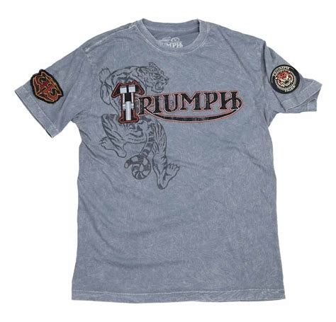 t shirt lba bikers tiger cruiser triumph uhl triumph tiger t shirt size sm only 60