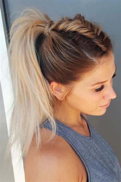 ponytail hairstyles top 25 best ponytail hairstyles ideas on pinterest easy