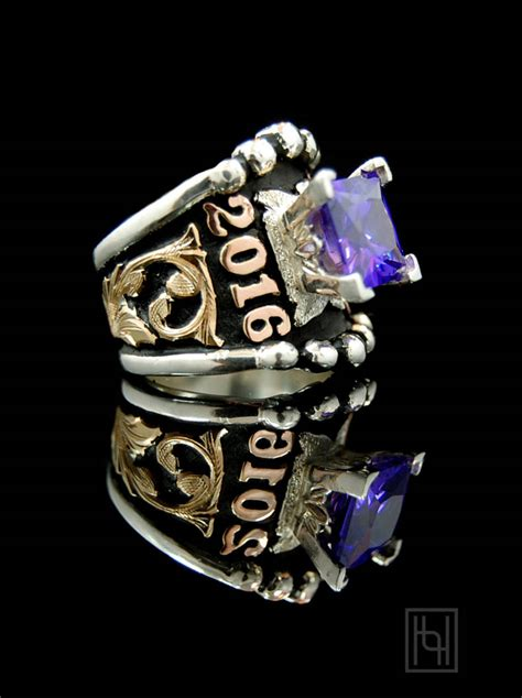 custom statement ring personalized jewelry by hyo silver