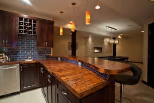 ordinary Lights For Under Cabinets In Kitchen #2: bar-countertop-ideas-Basement-Contemporary-with-none-.jpg