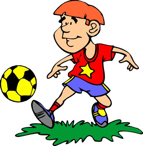 soccer player clipart soccer player clip at clker vector clip