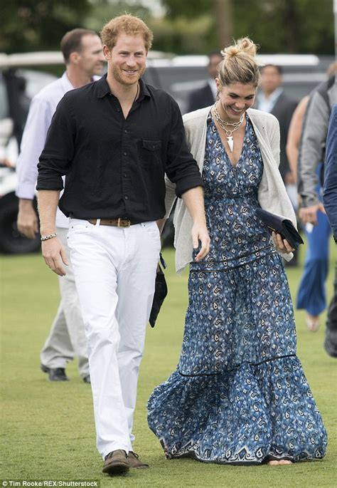 Gamis Diana Black prince harry hits the polo field for a charity match after
