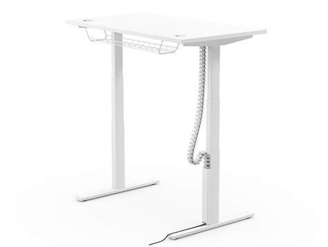 standing desk cable management cable baskets spines portholes cable management solutions