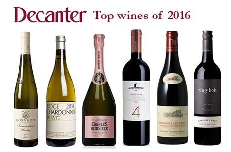 Top wines of 2016 from Decanter Expert Panel Tastings