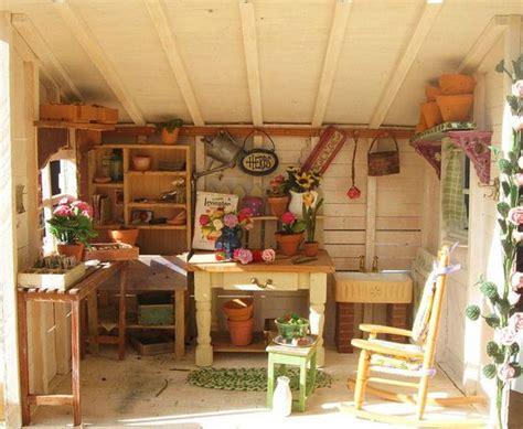 potting shed interior with rustic country design idea rustic country potting shed ideas for home outdoors