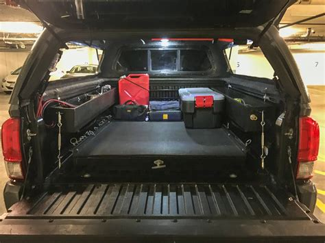 Truck Bed Gas Storage by Bed Storage Container Ideas Page 11 Tacoma World