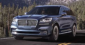 la show: lincoln reveals lhd only aviator crossover | goauto