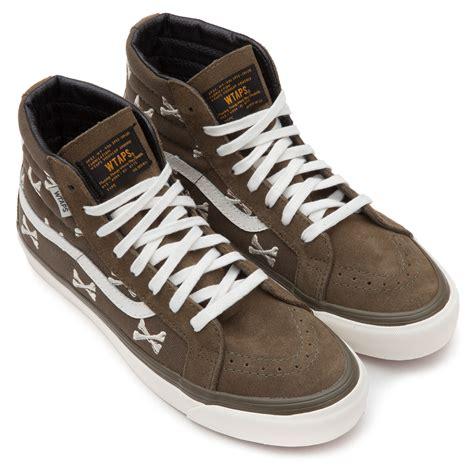 Vans Sk8 Hi Wtaps Crossbones vans og sk8 hi lx vans vault x wtaps shoes