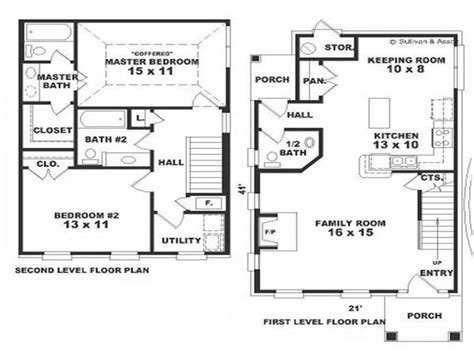 colonial house floor plans small colonial house floor plans small colonial house