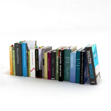 the riven mapped space volume 3 books books 3d model obj cgtrader