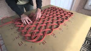 how to make a doormat out of plastic bags rope weaving clinic