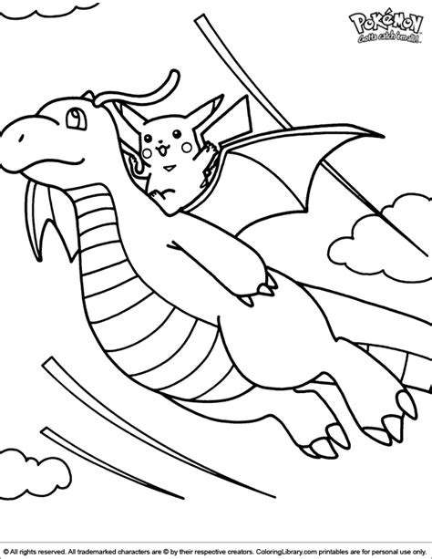 Pokemon Coloring Picture Where To Find Coloring Books