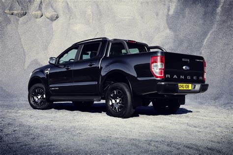 ford ranger 2018 ford ranger black edition limited to 2 500 units