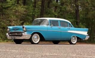 Car Tires Bel Air 1957 210 Sedan West Coast Car 283 Th350 Auto Power