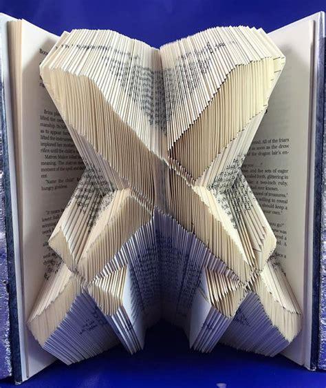 Origami Book Folding - origami book book folding pattern diy scimitar