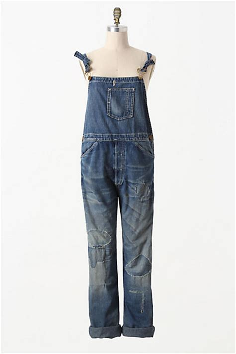 Are Levis Back In Fashion Again by Levi S Vintage Collection Destructed Overalls