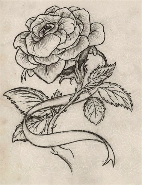 tattoo designs roses and thorns with thorns designs best designs