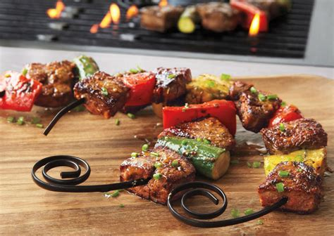 Closet Chairs curved shish kabob skewers fit on your plate the