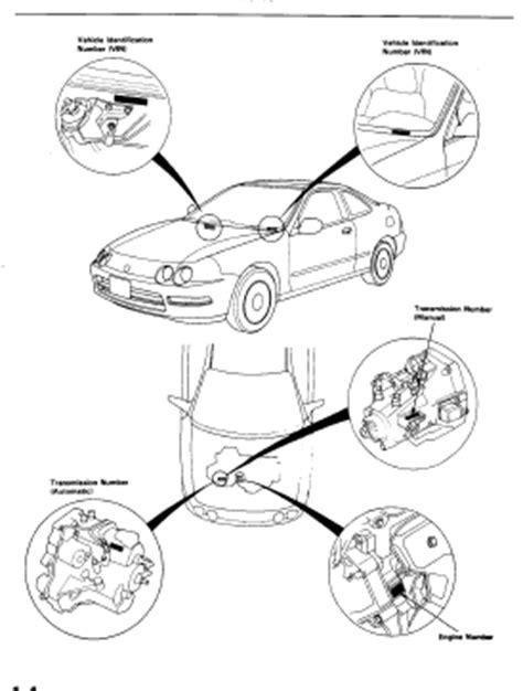 auto repair manual online 1998 acura integra seat position control acura integra 1998 1999 service manual workshop service