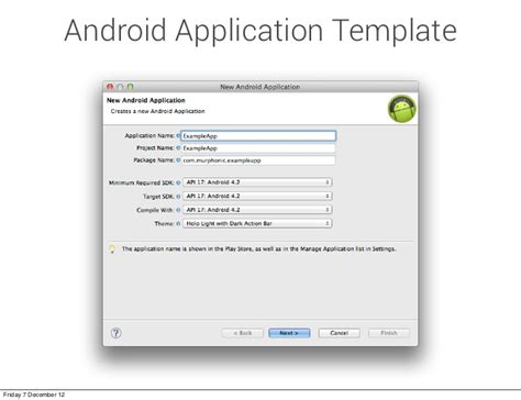 code templates for android apps custom android code templates