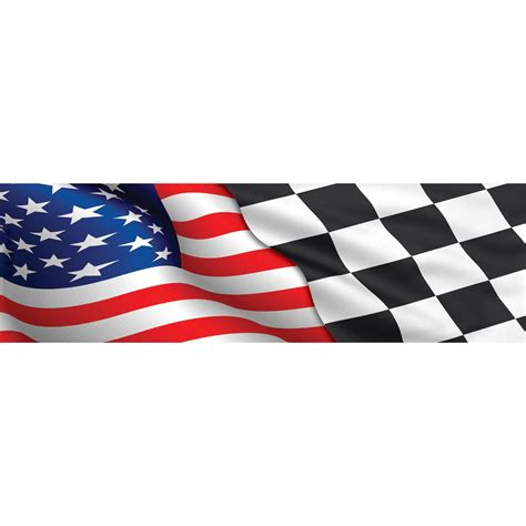 Checkered Flag L by Vantage Point Concepts American Checkered Flag Original
