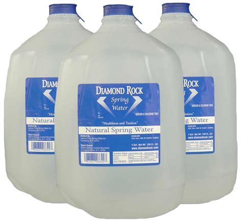 1 Gallon Bottle - 1 gallon bottle 6 per rock water