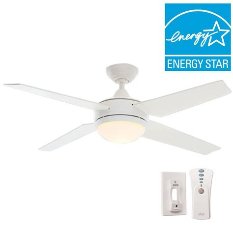 white ceiling fan with remote sonic 52 in indoor white ceiling fan with