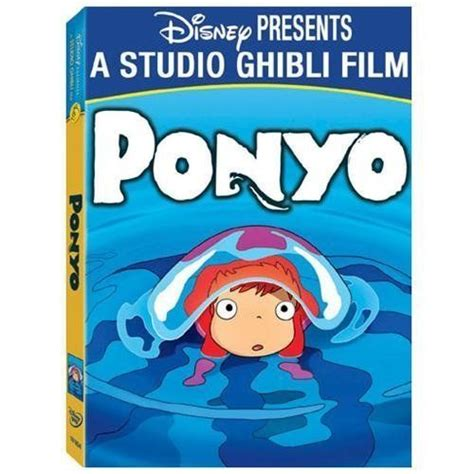 studio ghibli film cell ponyo dvd 2010 2 disc set dvd hd dvd blu ray