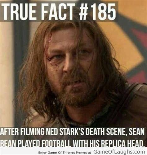 Ned Stark Meme - game of thrones ned stark fact game of thrones memes