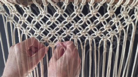 How Do You Do Macrame - how to do macrame knots forming a v with square knots