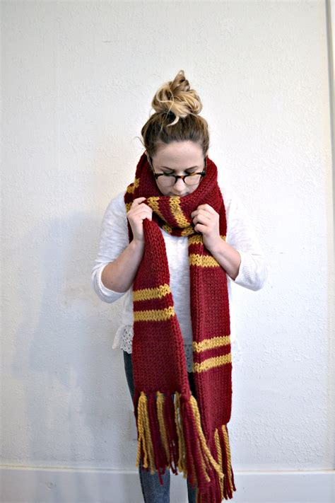 harry potter house scarves not ready to ship gryffindor