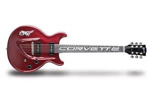 gibson custom celebrates corvette s 50th with limited